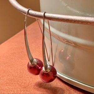Jewelry - Sterling Silver Elongated Drop Earrings